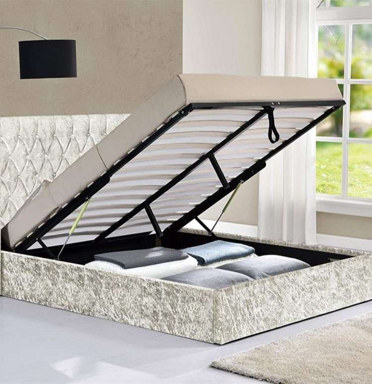 wing bed ottoman